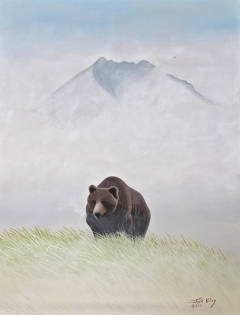 13-Grizzly in Alpine