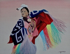 28-Woman Jingle Dancer