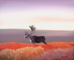 3-Caribou in Autumn