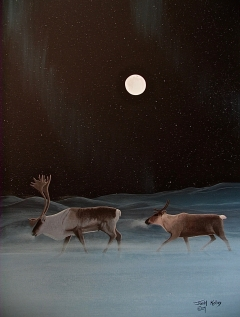 4-Caribou in Moonlite